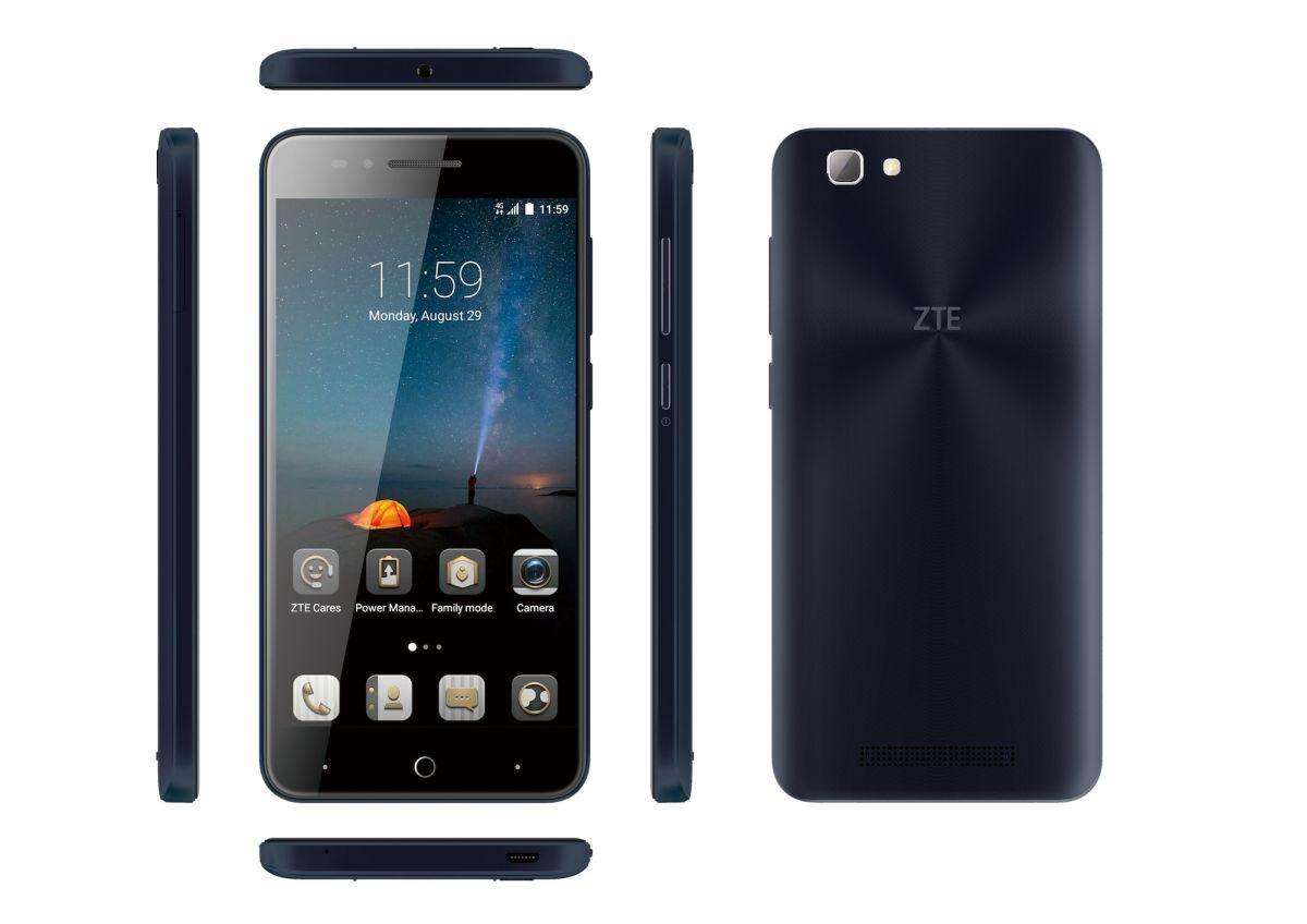 ZTE Blade A612 blue 01
